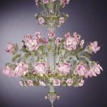 çiçek salon avize modeli