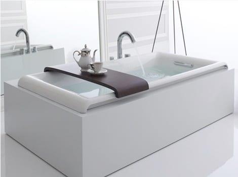 Lüks Küvet Modelleri : Beyaz Lüks Banyo Küveti