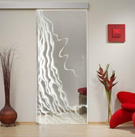 Dekoratif Cam Kapı Modelleri