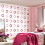 Çiçek-desenli-çocuk-odası-duvar-kağıdı-örnekleri