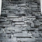 üç boyutlu Taş Desenli Duvar Kagıdı