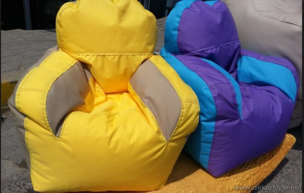 2018 Yeni Sezon Çocuk Odası Puf Koltuk Modelleri