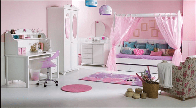 En Yeni Doğtaş Kız Çocuk Odası Modelleri