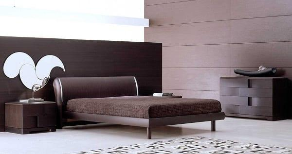 Trendy Modern İtalyan Yatak Odası Modeli