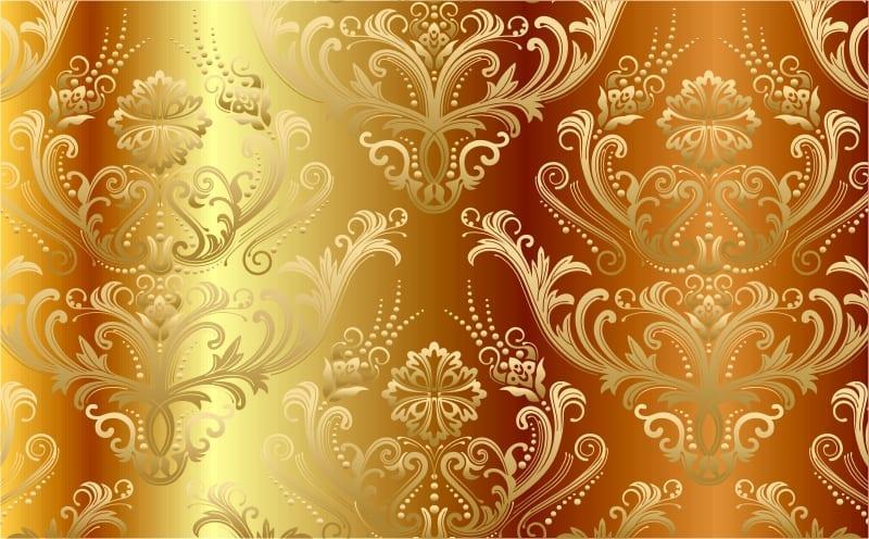 altın renkli duvar kağıdı