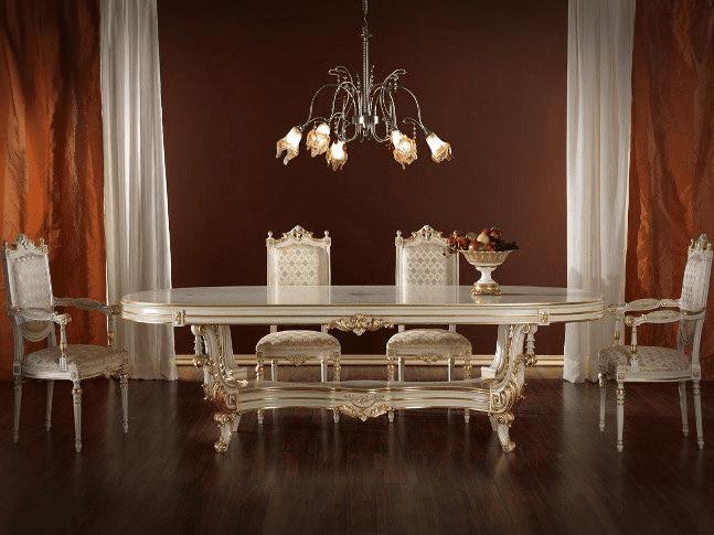 Gösterişli Klasik Yemek Masası Modelleri