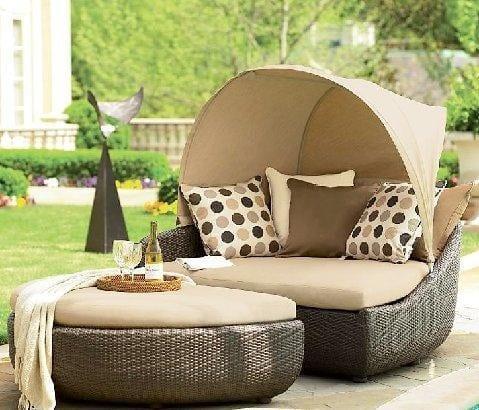 Bahçe Mobilyaları Bahçe Yatakları
