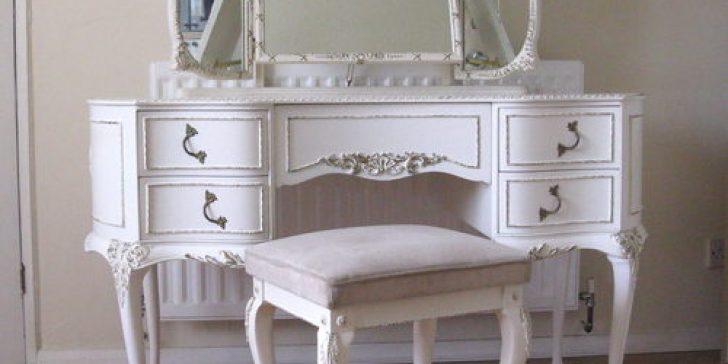 2014 Beyaz Makyaj Masası Modelleri
