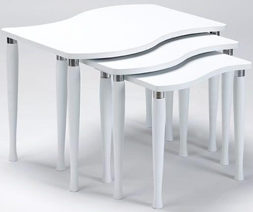 beyaz zigon-sehpa-modelleri