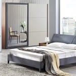 doğtaş gri yatak odası modelleri