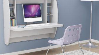 Duvara Monteli Bilgisayar Çalışma Masaları