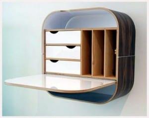 duvara-monte-masa tasarımı