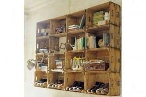 En güzel dekoratif ahşap kitaplıklar