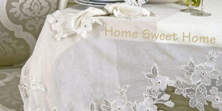 Home Sweet Home Çok Özel Masa Örtüleri