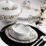 Kütahya Porselen Elegant Yemek Takımı