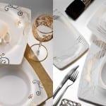 Kütahya Porselen Kare Yemek Takımı Görselleri