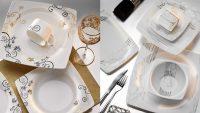 Kütahya Porselen Yemek Takımı Modelleri 2014