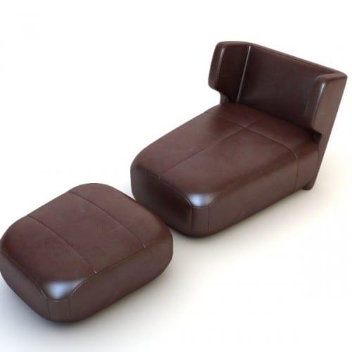 kahverengi-deri-puf-koltuk-modeli