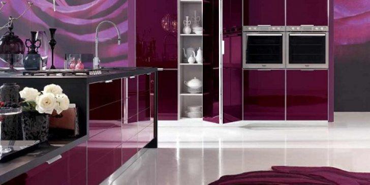 Renkli Mutfak Dolabı Modelleri 2014-2015