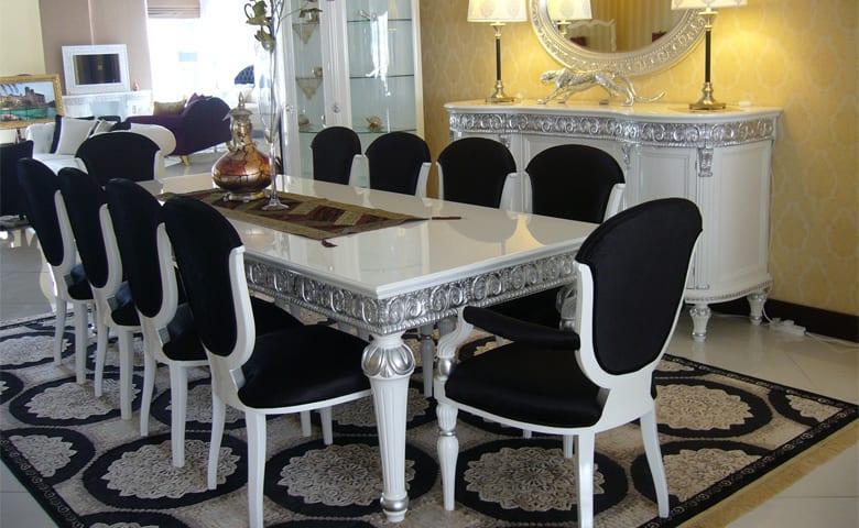osmanli tarzı-yemek masası
