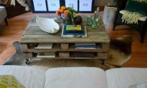 paletten yapılmış mobilya modelleri