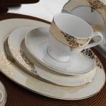 Sarmaşık Desenli Kütahya Porselen Yemek Takımı