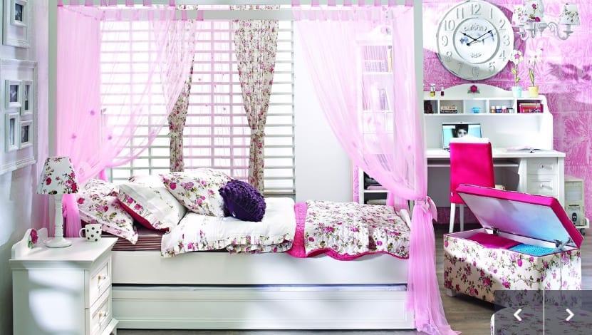 Secret Garden Çocuk Odası : Yatak