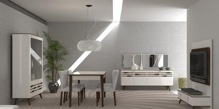 Tarz Mobilya Yemek Odası Modelleri 2014