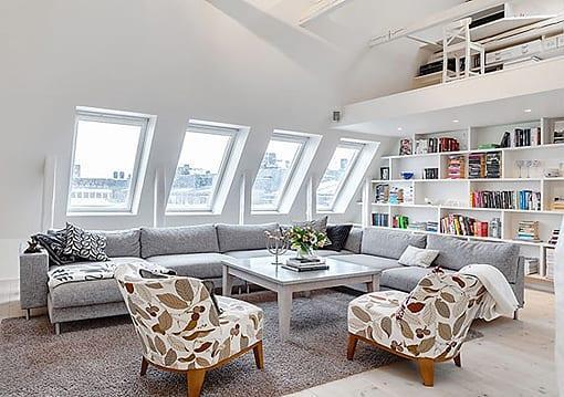 çatı katı tasarımı