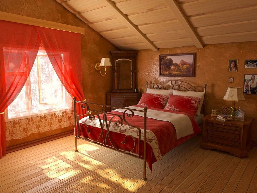 çatı katı yatak odası | Dekorstyle