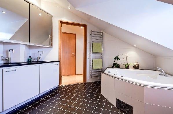 çatıkatı dekoratif banyo örnekleri