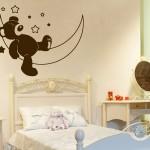 çocuklar için renkli duvar sticker modelleri