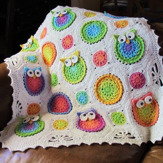 örgü bebek battaniyeleri