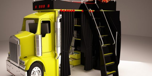 İlginç Genç Odası Mobilya Modelleri 2015
