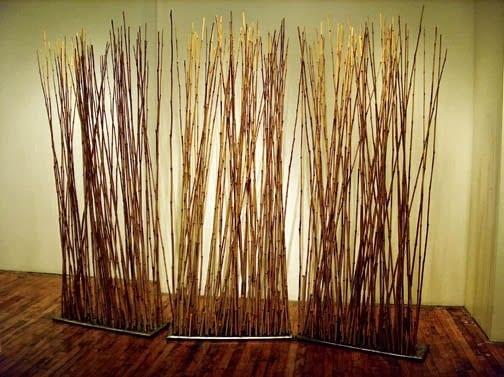 Bambu dekoratif paravan