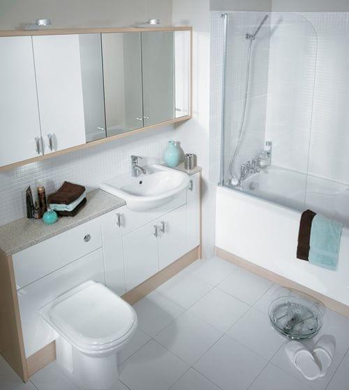 K k ve dar banyolara dekorasyon nerileri dekorstyle - Banyo dekorasyon ...