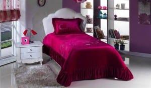 bellona kız odası yatak örtüsü