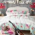 Çingene Desenli Genç Kız Odası Yatak Örtüleri