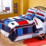 Çocuk Odası Arabalı Yatak Örtüsü