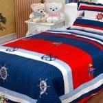 Denizci Çocuk Yatak Örtüsü