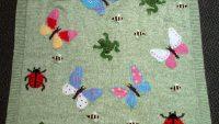 El Örgüsü Bebek Battaniyesi Modelleri