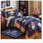 Erkek çocuk odası yatak örtüsü