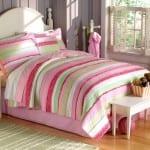 Genç Kız Odası Yatak Örtüsü Modelleri