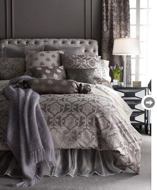 Gri Yatak Odası