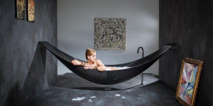 Sıradışı Dekoratif Banyo Küveti Modelleri 2015
