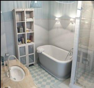 Küçük banyo dolapları