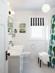 Küçük ve kullanışlı banyolar