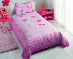 kız cocuk yatak örtüsü