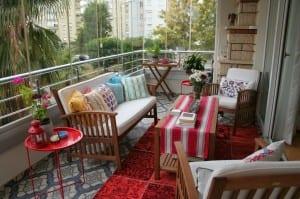 kapalı balkonlarda sonbahar keyfi