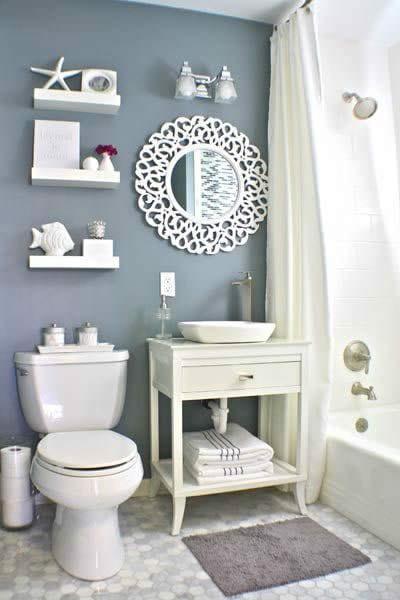 kucuk-banyo-dekorasyon fikirleri